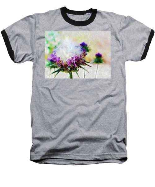 Purple Chaparral  Baseball T-Shirt