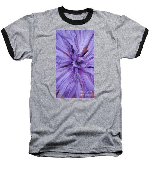 Purple Colorado Wildflower In Macro Baseball T-Shirt