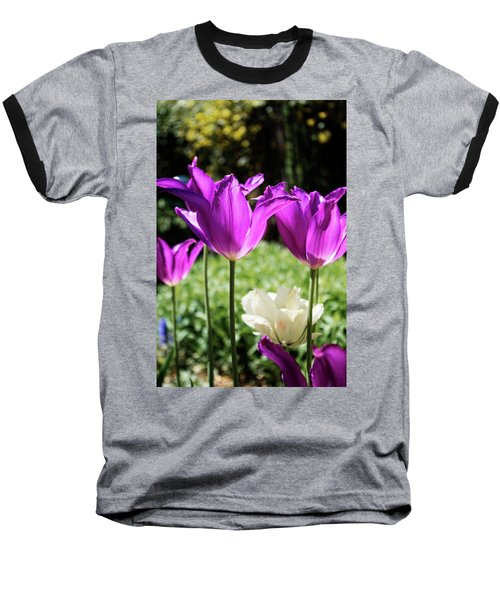 Purple Cups Baseball T-Shirt