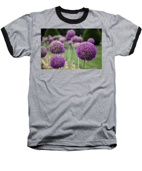 Baseball T-Shirt featuring the photograph Purple Depth by Jason Moynihan