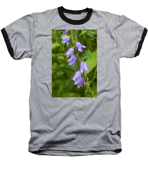 Purple Dew Drops Baseball T-Shirt
