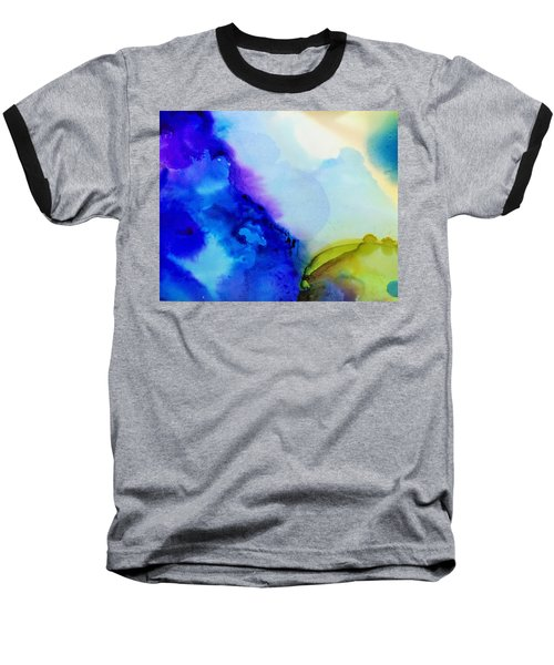 Purple Flow Baseball T-Shirt