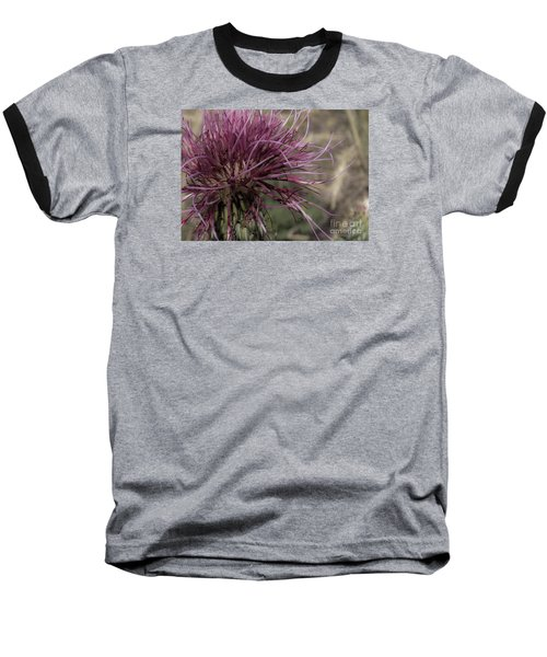 Purple Flower 2 Baseball T-Shirt