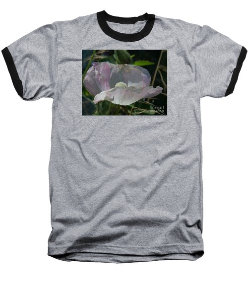 Purple Flower 4 Baseball T-Shirt
