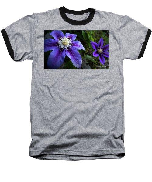 Baseball T-Shirt featuring the photograph Purple Flowers by Brian Jones