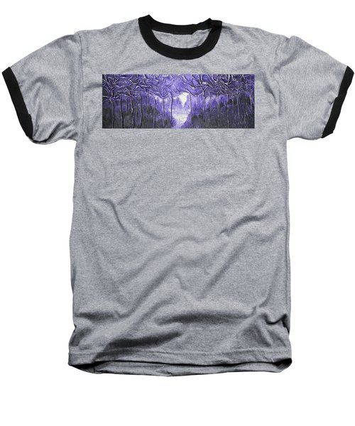 Purple Forest Baseball T-Shirt