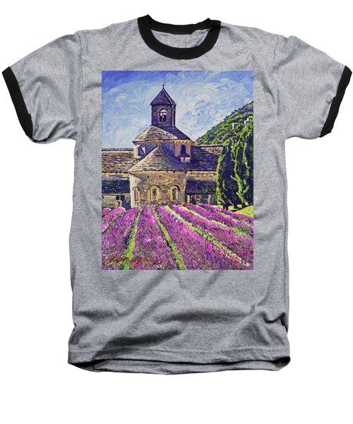 Purple Gardens Provence Baseball T-Shirt
