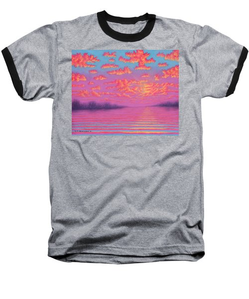 Purple Haze 01 Baseball T-Shirt