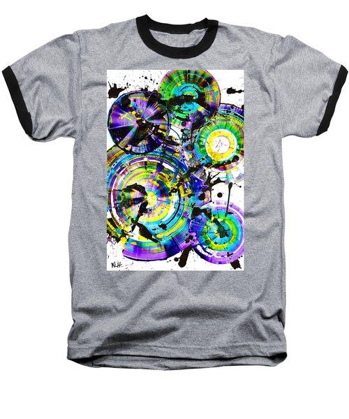 Purple Haze Spheres And Circles 1509.021413 Baseball T-Shirt by Kris Haas