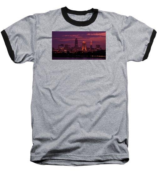 Purple Haze Baseball T-Shirt