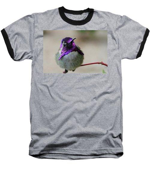 Purple Head Baseball T-Shirt