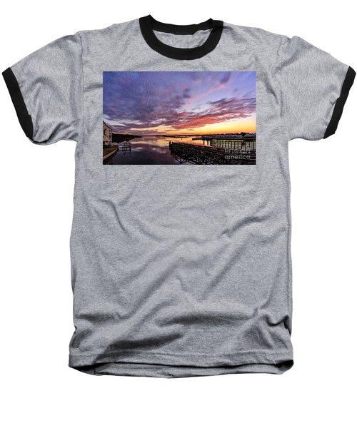 Purple Icw Baseball T-Shirt