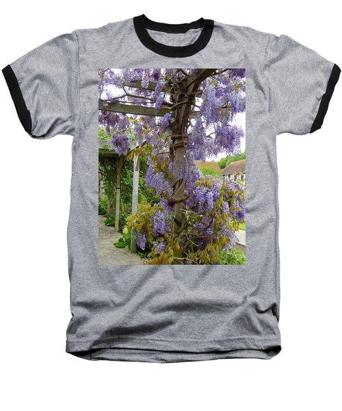 Purple In Priory Park Baseball T-Shirt