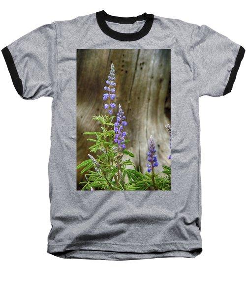 Purple Lupine Baseball T-Shirt