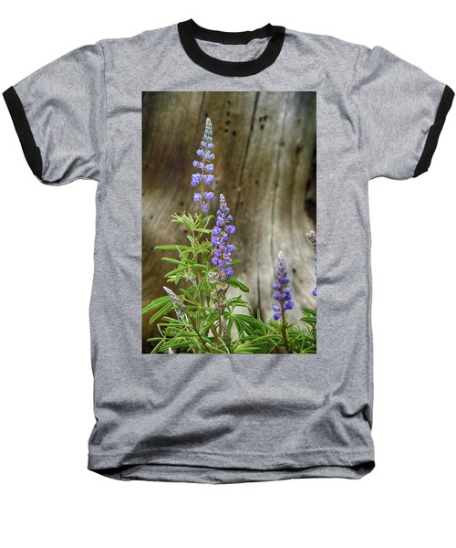 Purple Lupine Baseball T-Shirt