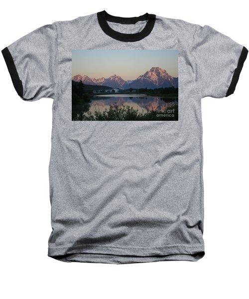 Baseball T-Shirt featuring the photograph Purple Mountain Majesty  by Paula Guttilla