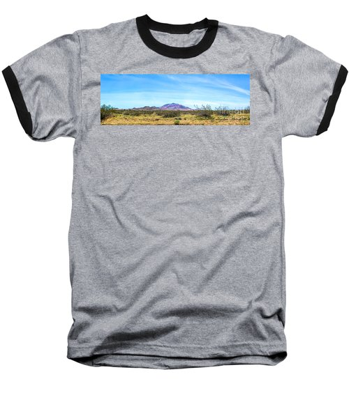 Purple Mountain Panoramic Baseball T-Shirt