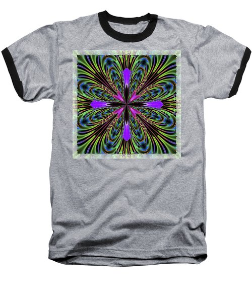 Purple Orchid Baseball T-Shirt