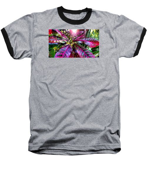 Purple Paradise Baseball T-Shirt