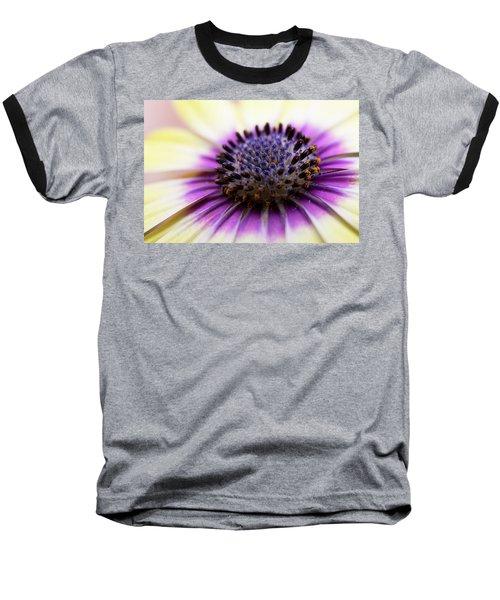 Purple Passion Baseball T-Shirt by Deborah Scannell