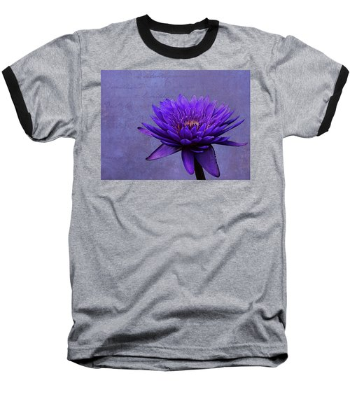 Baseball T-Shirt featuring the photograph Purple Passion by Judy Vincent