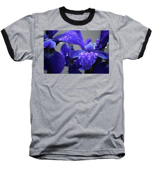 Purple Passion Baseball T-Shirt by Rowana Ray