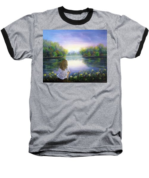 Purple Peace Baseball T-Shirt