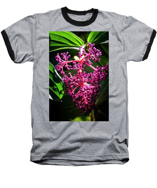 Purple Plant Baseball T-Shirt
