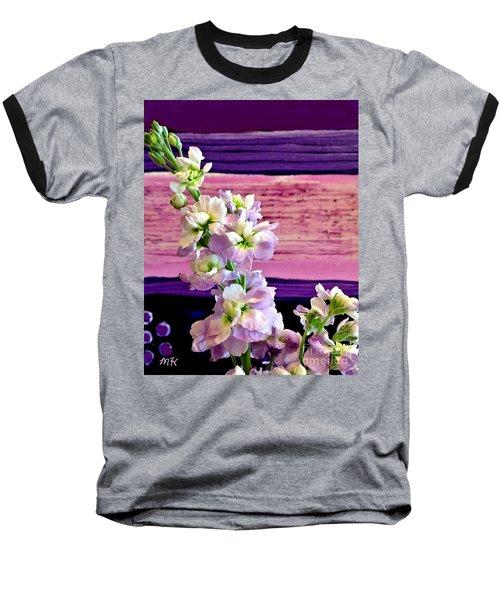 Purple Purple Everywhere Baseball T-Shirt