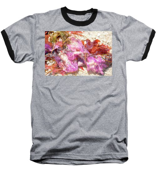 Purple Seaweed In Pacific Grove Baseball T-Shirt
