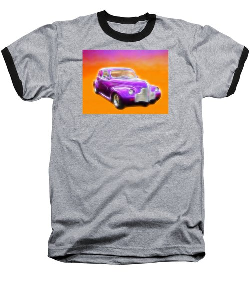 Purple Shadow Cruiser Baseball T-Shirt