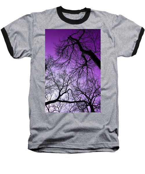 Purple Sky Baseball T-Shirt