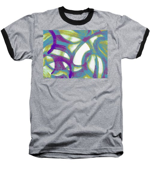 Purple Soul Baseball T-Shirt