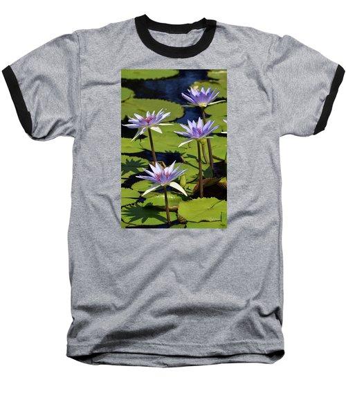 Purple Sparks Baseball T-Shirt