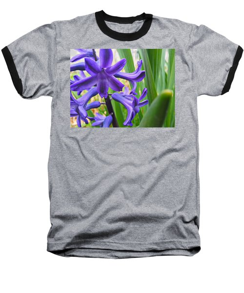 Baseball T-Shirt featuring the photograph Purple Spring by Robert Knight