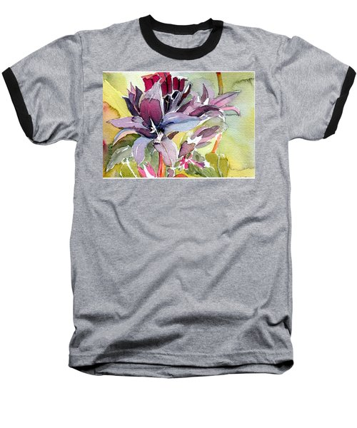 Purple Stem Aster Baseball T-Shirt