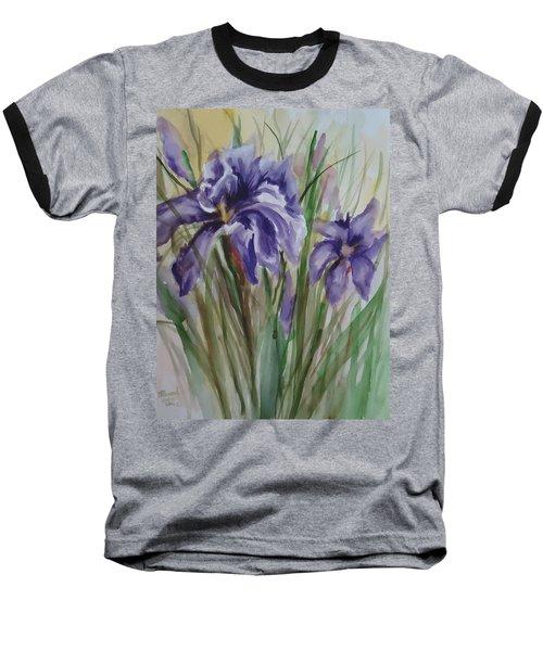 Purple Times 3 Baseball T-Shirt