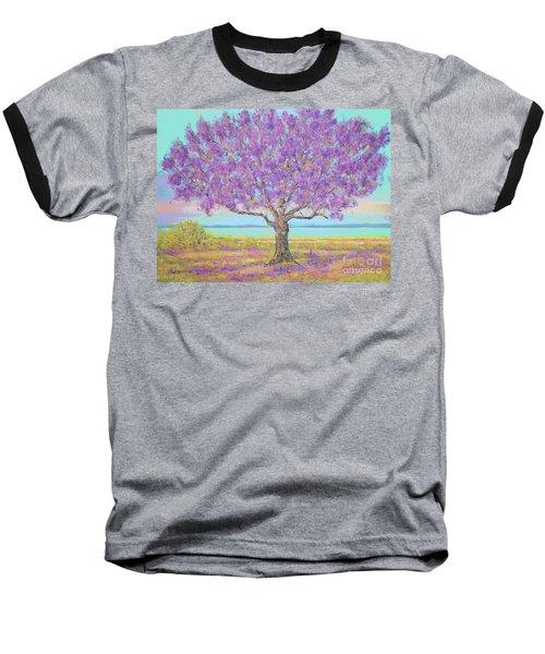 Purple Tree Baseball T-Shirt