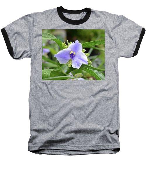 Spiderwort Baseball T-Shirt