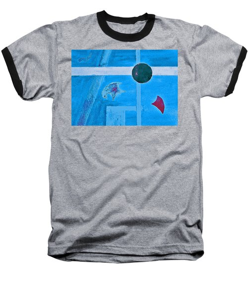 Purposphere Gone Blue Baseball T-Shirt
