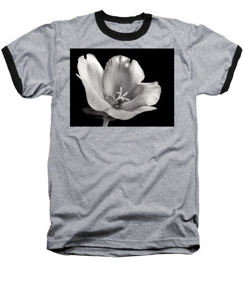 Baseball T-Shirt featuring the photograph Purslane In Monochrome by David and Carol Kelly