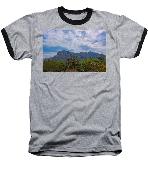 Baseball T-Shirt featuring the photograph Pusch Ridge Morning H26 by Mark Myhaver