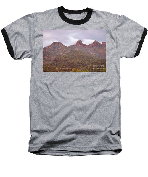 Pusch Ridge Tucson Arizona Baseball T-Shirt by Donna Greene