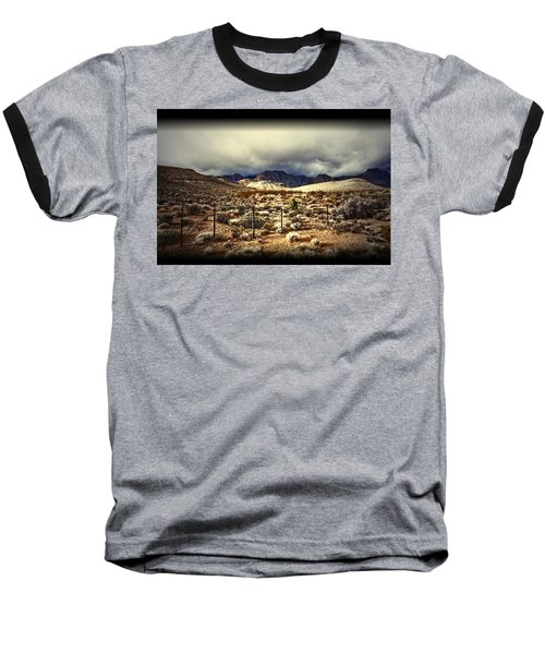 Baseball T-Shirt featuring the photograph Push by Mark Ross