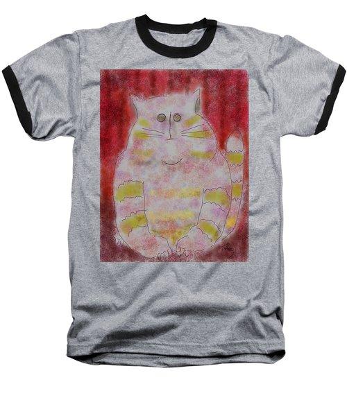 Pussy Cat Baseball T-Shirt