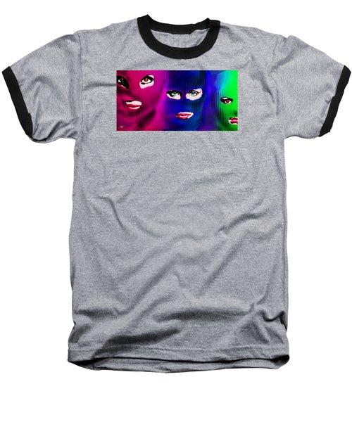 Pussy Riot Baseball T-Shirt by Tony Rubino