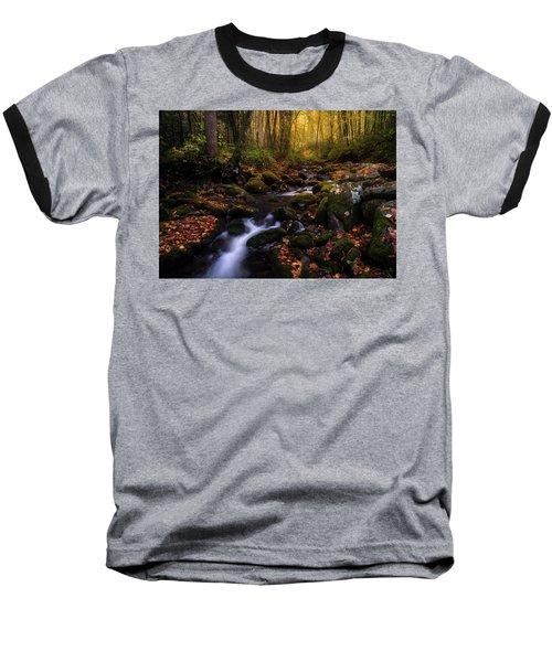 Put A Fork In It Baseball T-Shirt by Bjorn Burton