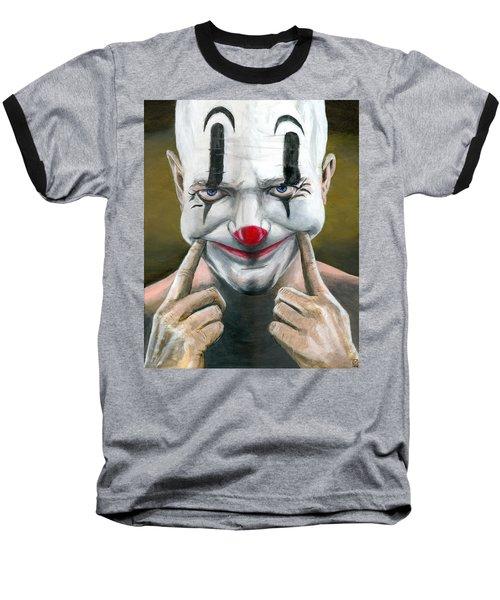 Put On A Happy Face Baseball T-Shirt