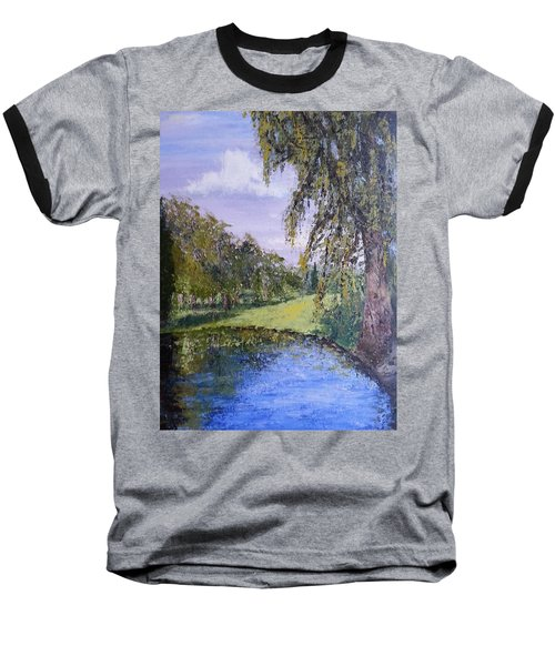 Putting Green Pond Baseball T-Shirt