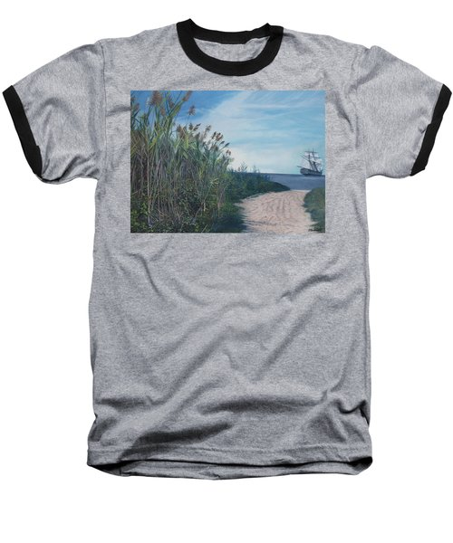 Putting Out To Sea Baseball T-Shirt
